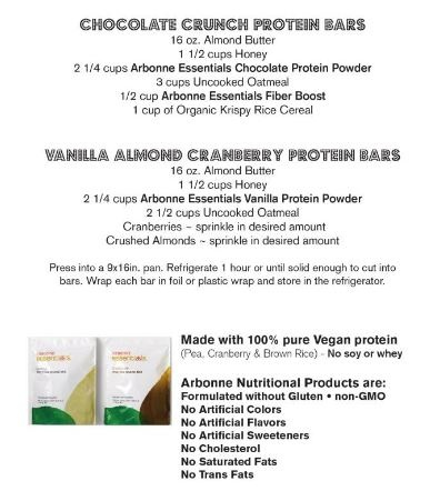 Make your own protein bars with Arbonne!  Christina Leek. Arbonne Independent Consultant. ID# 116038435  www.facebook.com/arbonnechristinaleek