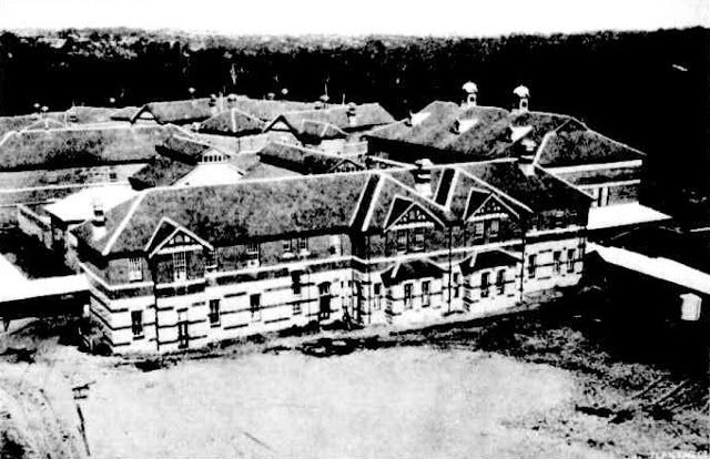 The Nurses Quarters at Claremont Hospital for the Insane, Western Australia, 1912