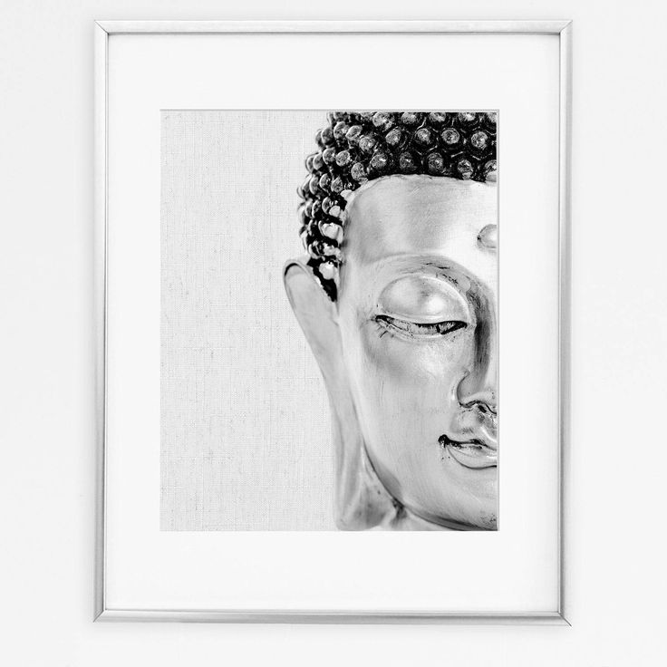 Buddha Wall Art, Buddha Painting, Buddhism Print, Buddha Decor, Buddha Gifts, Spiritual Art, Black And White Poster, Home Decor, Printable by DigitalSpot on Etsy