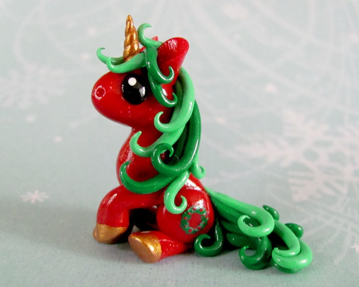 Mini Unicorn- Joy | Learning pretty Polymerclay ...