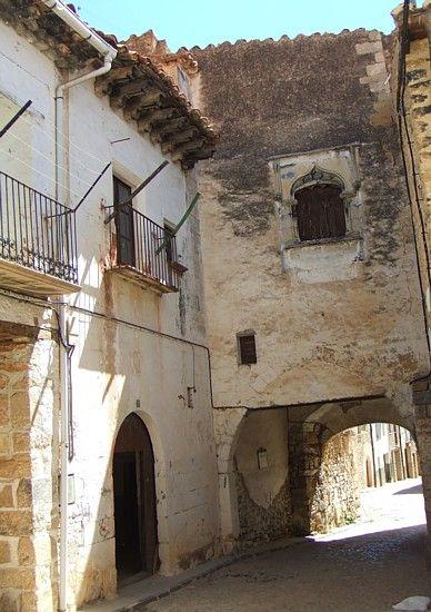Un rincón de #Mosqueruela en Teruel