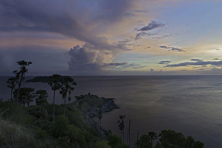 Promthep Cape Thailand Sunset