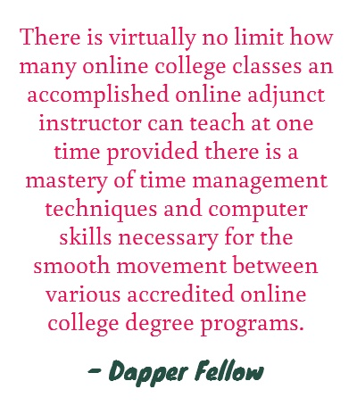 Teaching online...another challenge added to the resume