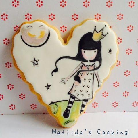 .MATILDA'Scooking: Galletas pintadas a mano