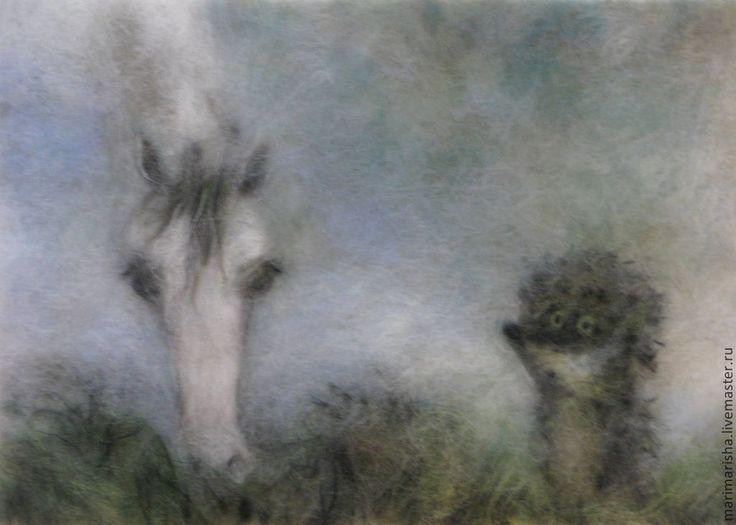 мы, картинки ежик в тумане с лошадью слива старого