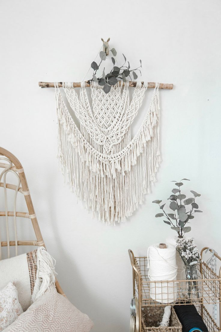 Macrame wall hangings from larks and leo on etsy click to shop modern bohemian decor macrame bohemian wallart