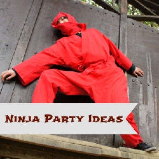 Ninja Birthday Party Ideas And Supplies * Birthday Themes