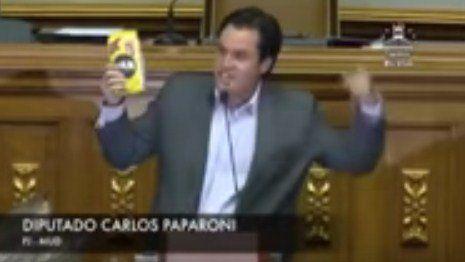 Este diputado le sacó una harina de maíz a la bancada oficialista en la AN para ejemplificar la crisis (Video) - http://www.notiexpresscolor.com/2016/11/12/este-diputado-le-saco-una-harina-de-maiz-a-la-bancada-oficialista-en-la-an-para-ejemplificar-la-crisis-video/
