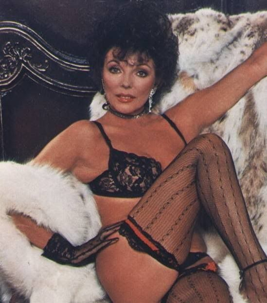 Joan collins sexy signed photograph autographs