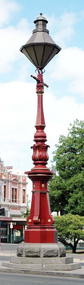 """Sugg"" Lantern in the City of Ballarat, Victoria, Australia"