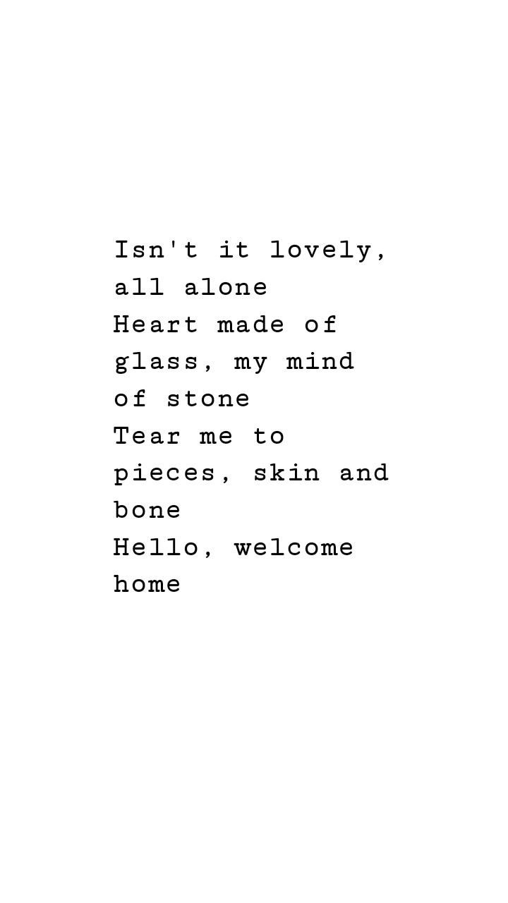 Lirik Alone Heart : lirik, alone, heart, Windproof, Travel, Umbrella, Compact,, Durable,, Automatic, Billie, Eilish,, Lyrics, Wallpaper,, Quotes