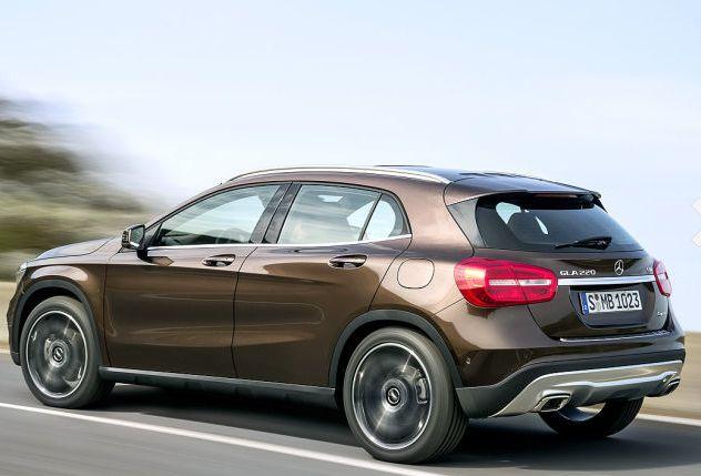 the all new #mercedesbenz GLA #SUV