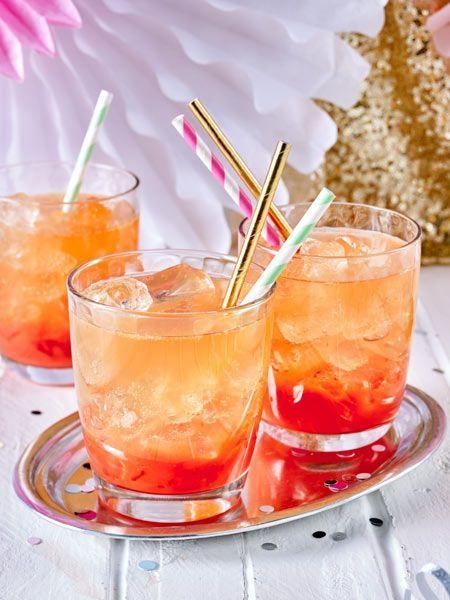 Die perfekte Mischung aus Fruchtsaft, Gin und Ginger Ale #gindrinks