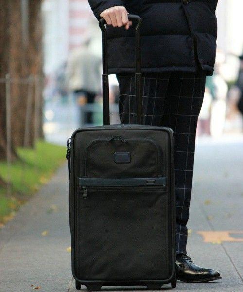メンズのスーツケース/キャリーバッグ(ブラック系)一覧 - WEAR TUMI(トゥミ)の「◇TUMI/トゥミ 別注 Interエクスパン ...