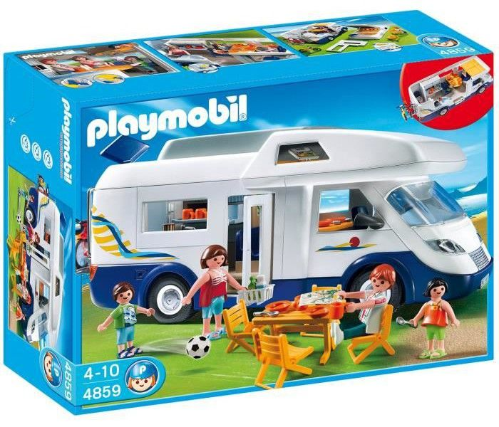 PLAYMOBIL 4859 Grand Camping-Car Familial