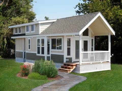 29 best cottage style mobile homes images on pinterest for Cottage style manufactured homes