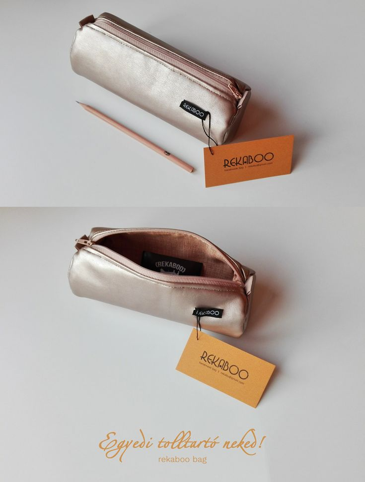 Unique pencil case in your style. Handmade by Rekaboo bag.