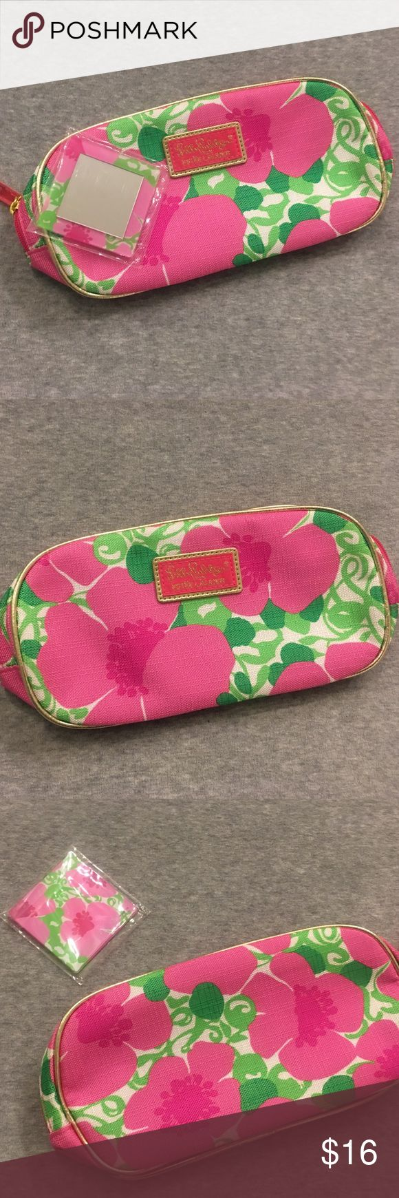 Lilly Pulitzer for Estee Lauder makeup bag! Lilly Pulitzer for Estee Lauder makeup bag with mirror (brand new). Lilly Pulitzer for Estee Lauder Bags Cosmetic Bags & Cases