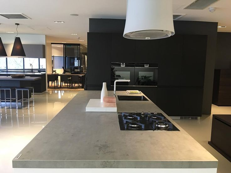 "122 Likes, 3 Comments - CDK Stone (@cdkstone) on Instagram: ""We love this Neolith Beton benchtop at the @poliformaustralia Melbourne showroom.  #cdkstone…"""