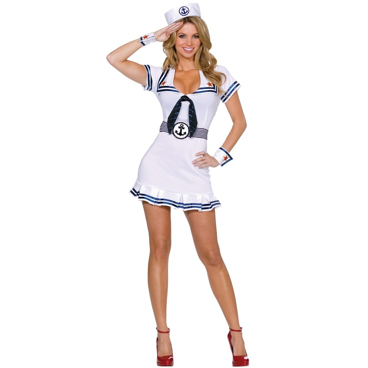 sailor pin up adult costume - Wish Halloween Costumes
