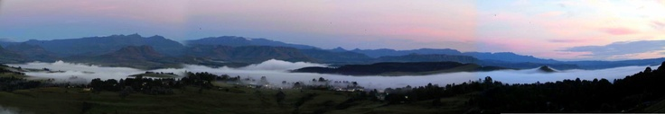 Underberg early in the morning