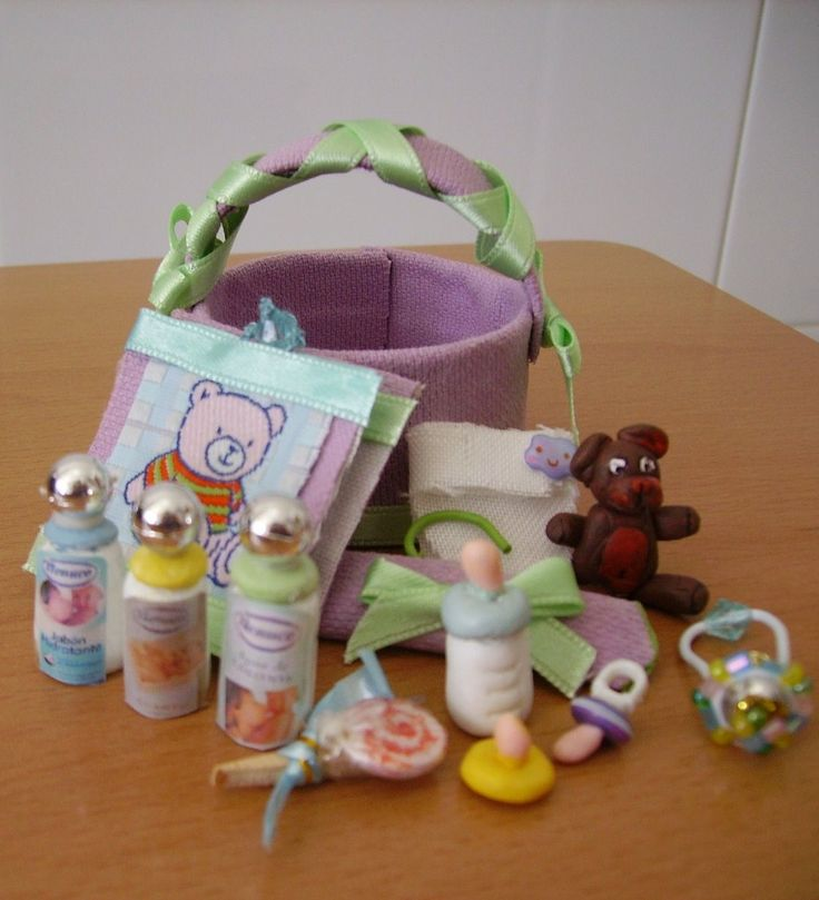 How To: Baby Basket (with Printables)