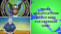 What qualifications are needed for overseas contract jobs? what most people think is the problem in getting an overseas job, isn't actually the problem! Watch Here: #overseasjob #job #contractor #academy #YouTube #contractjob #overseascontractoracademy