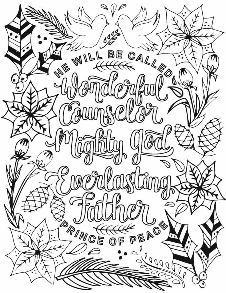 Christmas Coloring Pages for Adults | Christmas coloring ...