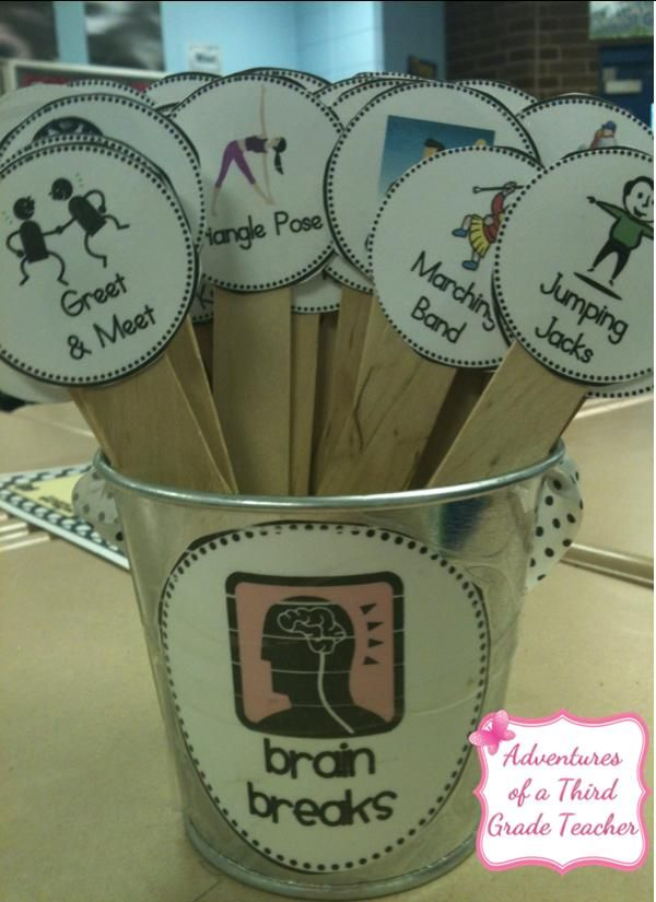 Brain Break Sticks