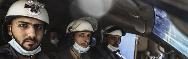 Syrische bevolking heeft geen goed woord over voor Oscarwinnende Witte Helmen - http://www.ninefornews.nl/syrische-bevolking-woord-witte-helmen/