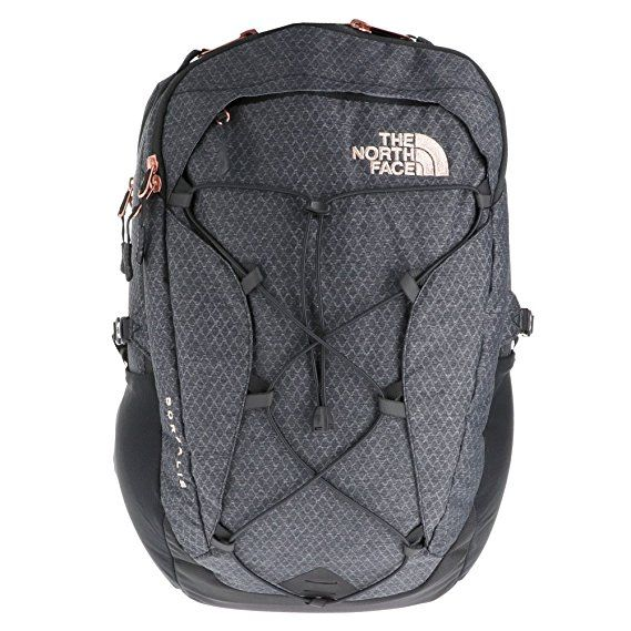 d85a701d744 The North Face Borealis Backpack - Women's TNF Black Heather/Burnt Coral  Metallic