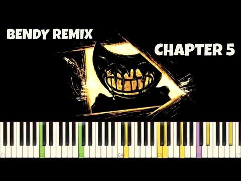 Bendy And The Ink Machine Chapter 5 Theme Npt Music Remix End