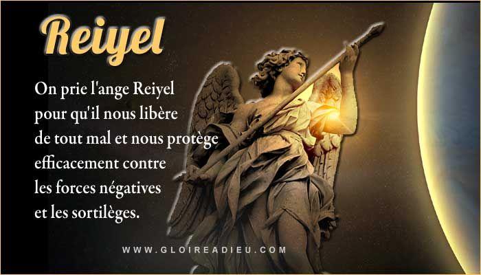 On Prie L Ange Reiyel Pour Qu Il Nous Libere De Tout Mal Des Sortileges Et Nous Protege Efficacement Contre L Ange Gardien Archange Gabriel Anges Et Archanges
