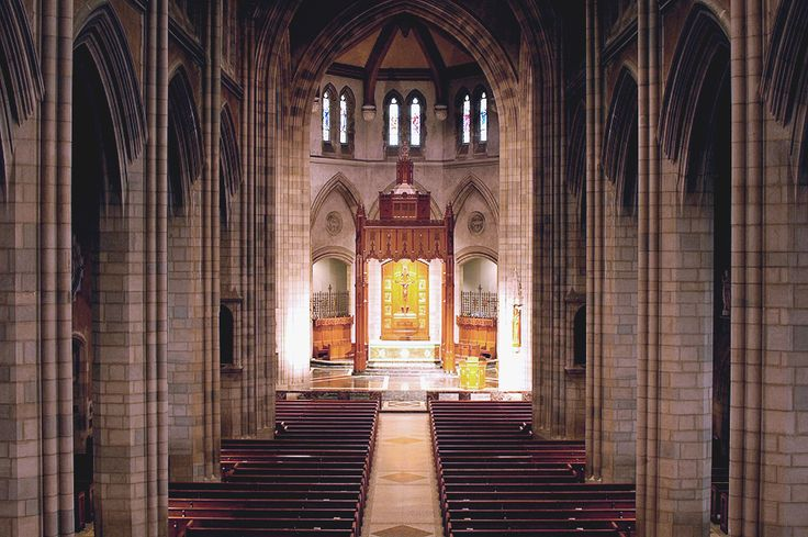 Interior of St. Nicholas of Tolentine Catholic Church - The Bronx, N.Y. (photo…