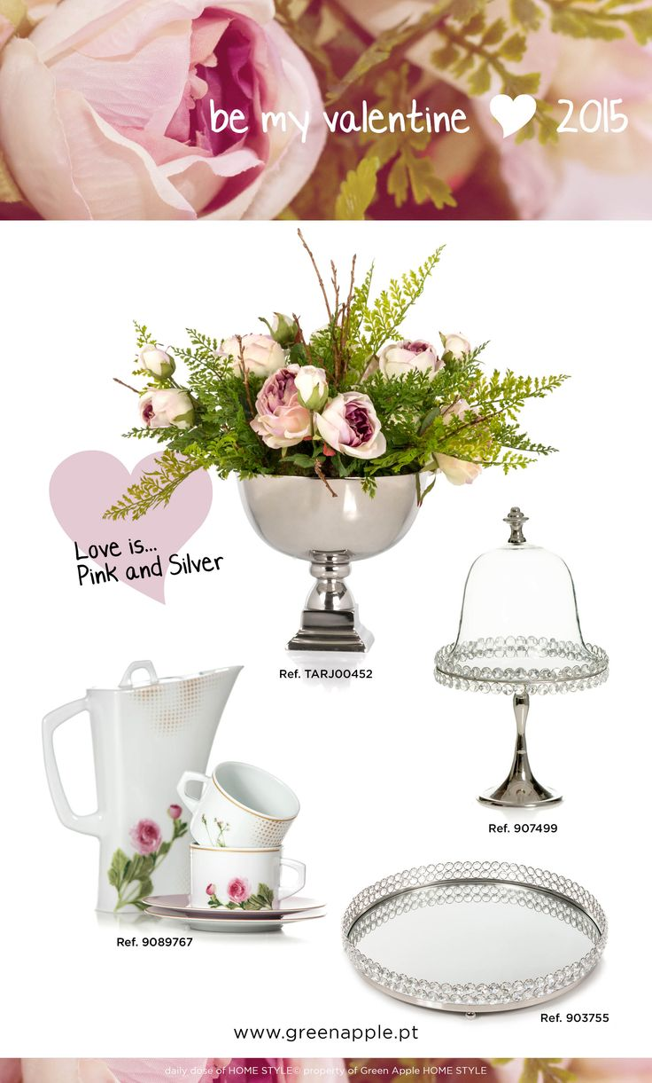 be my valentine <3 2015 #porcelain #limoges #crystal #InspiringCollections #GreenAppleHomeStyle