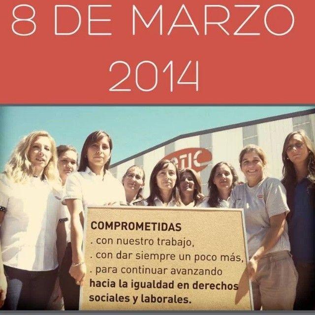 Día Internacional de la Mujer Trabajadora. La Conmemoración de nuestras colaboradoras en el día a día.