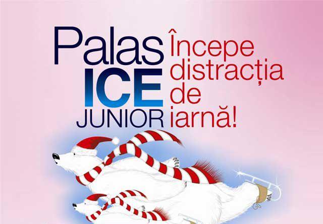 Palas deschide un al doilea patinoar, dedicat copiilor – Palas Ice Junior