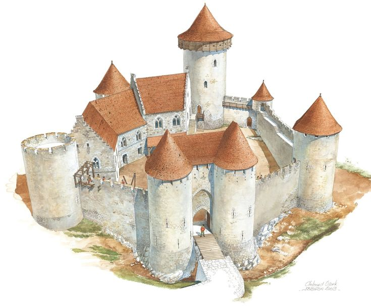 Medieval Castle begins to emerge in America's heartland | Medieval ...
