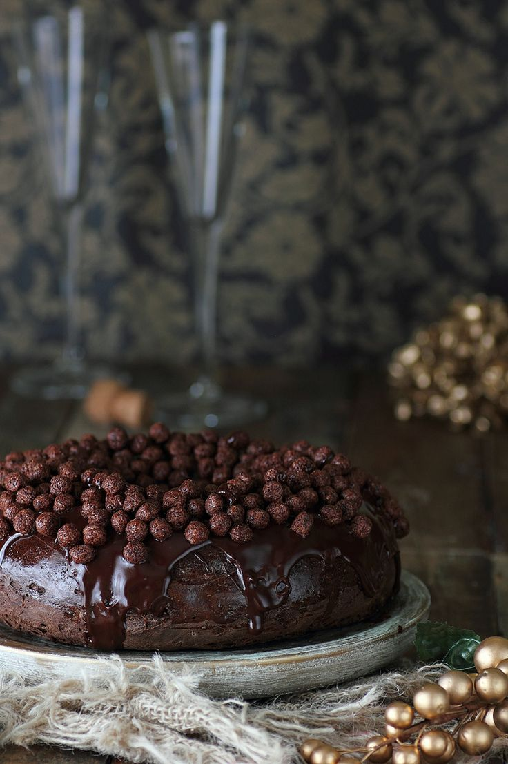 Kanela y Limón: Roscón de reyes de chocolate