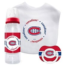 First Time Fan - Montreal Canadiens Baby Gift Set