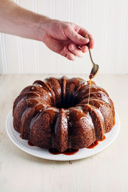 Hummingbird High: Banana Bundt Cake with Salted Dulce de Leche