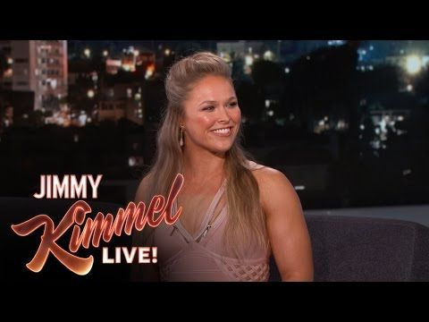 Ronda Rousey's Next Fight is Like Rocky IV - YouTube