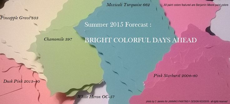 17 Best Images About Tropical Benjamin Moore Colors On