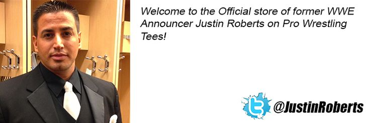 Justin Roberts Wrestling T-shirt Store