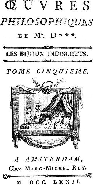 I MIEI SOGNI D'ANARCHIA - Calabria Anarchica: Les Bijoux indiscrets by  Denis Diderot 1748 Cover...