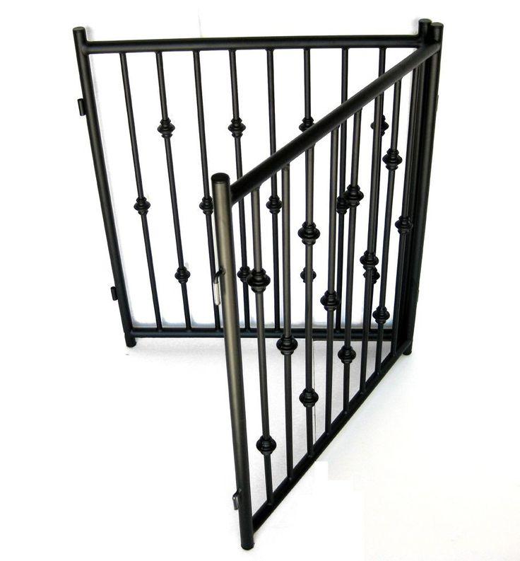 Extra Wide Pressure Mount Pet Gate White Antiques