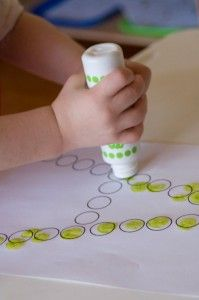 Letters to fill in with bingo markers! Great letter recognition for early literacy skills.