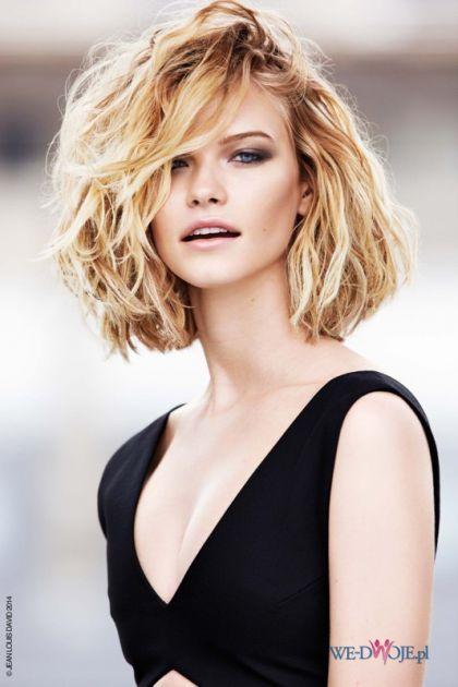 Fryzura blond jak po plaży #polkipl