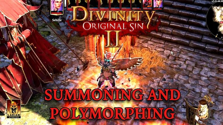 Divinity: Original Sin 2 - Summoning and Polymorphing Trailer