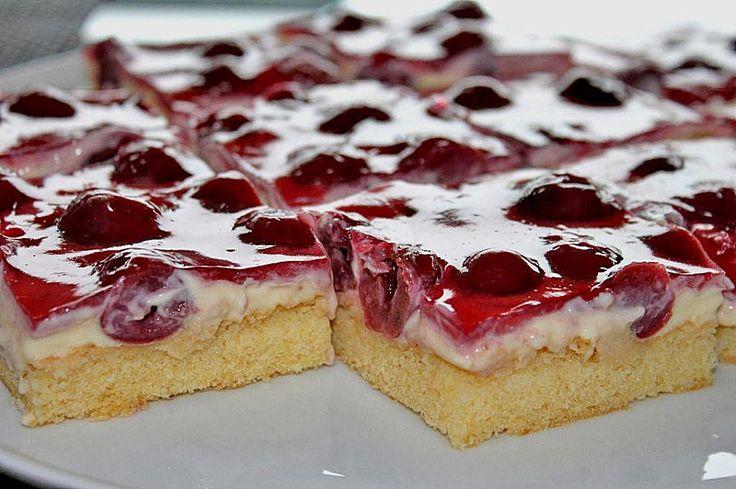 Geheime Rezepte: Kirsch - Schmand - Blechkuchen